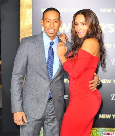 Ludacris with fiance Eudoxie