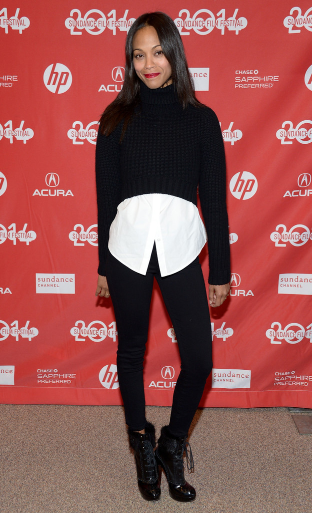 zoe-saldana-infinity-polar-bear-premiere-2014-michael-kors-turtleneck-tory-burch-shirt-goldsign-jeans-robert-clergerie-boots-2