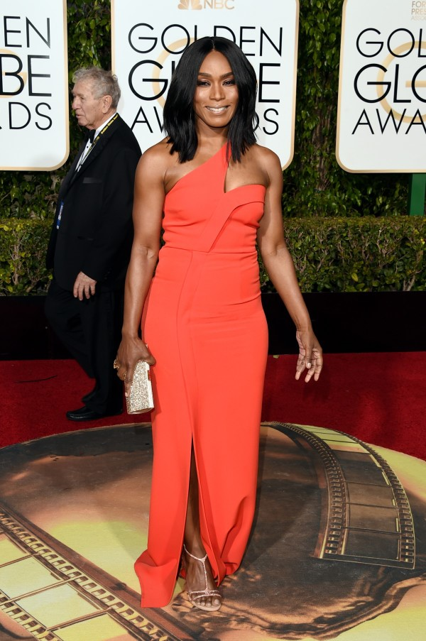 Angela Bassett-Golden Globes 2016