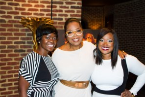 Saptosa Foster, Oprah Winfrey and Shante Bacon