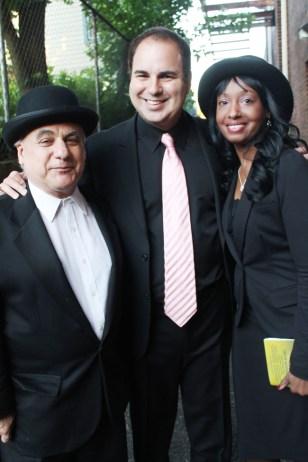 Movie producer, Acting coach Mark Stolzenberg(left), Ken DelVecchio(middle), and Karen Chrystal