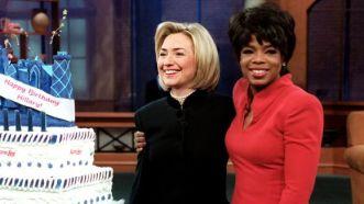 Oprah and Hillary 2
