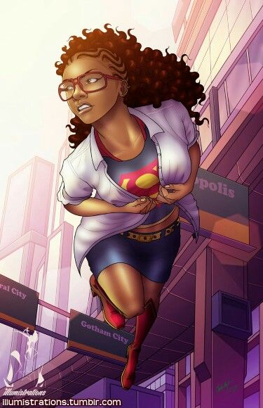 black-superwoman