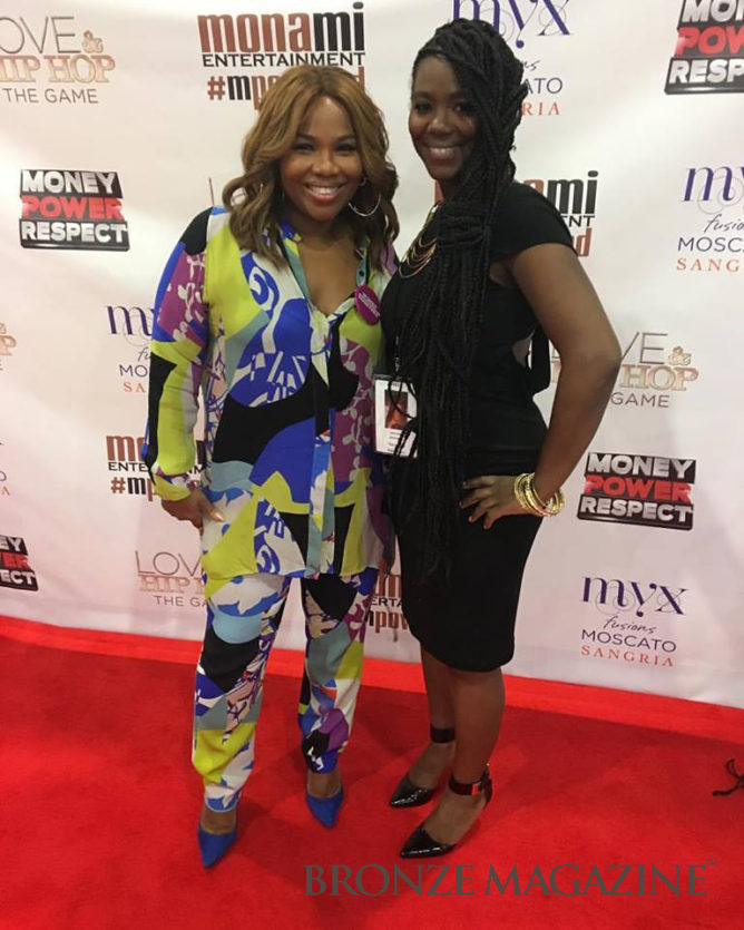 Tanthony Raeshawn with Mona Scott-Young