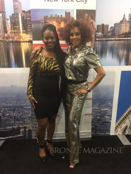 Tanthony Raeshawn with Vivica A Fox at COS2016