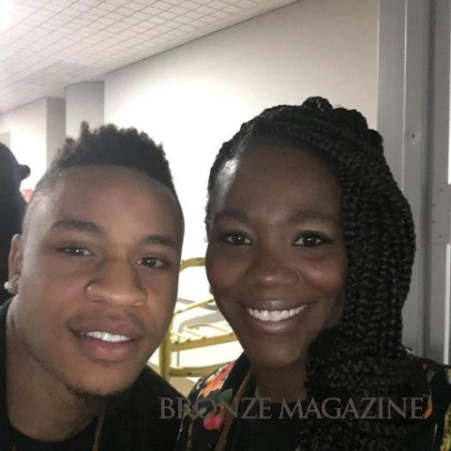 Tanthony Raeshawn with Rotimi at COS 2016