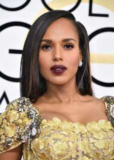 Kerri Washington Golden Globes 2017