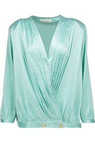 The Outnet-Pierre Balmain padded shoulders blouse