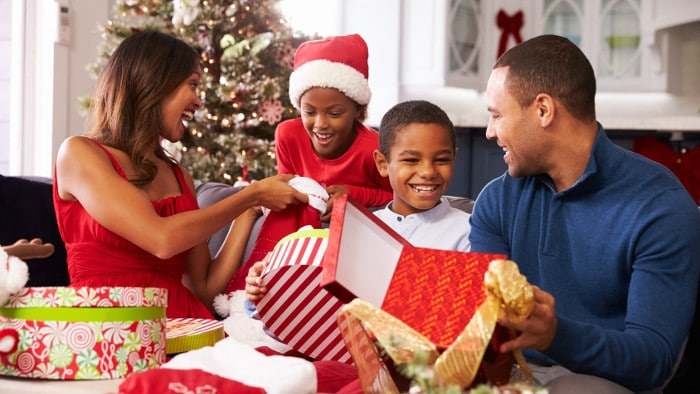 Family Christmas Gift Giving.Three Tips To Take The Stress Out Of Gift Giving Bronze