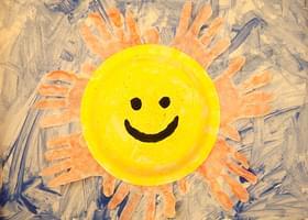 Sun And Moon Face Paint