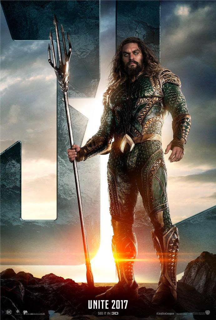 Aquaman costume - Justice League 2017 Jason Momoa
