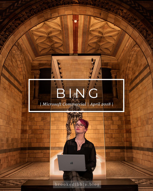 My Bing History: Microsoft Bing Commercial