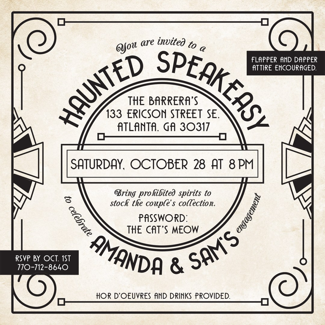 Engagement Party Invite | Design Gallery