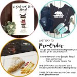 Last Day to Pre-Order and Win some of this Girl's Favorite Things