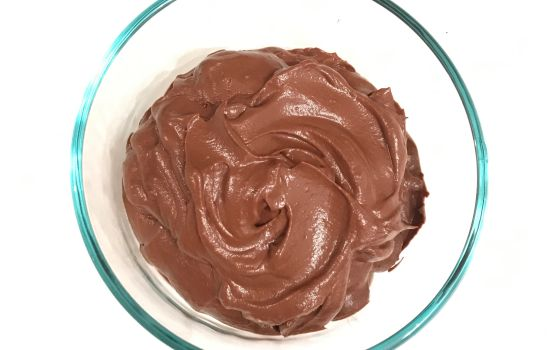 Silky Chocolate Avocado Pudding