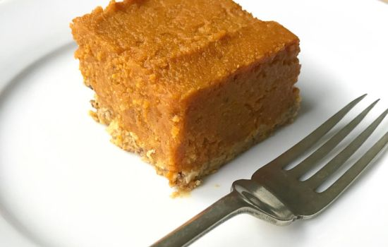 No-Bake Pumpkin Pie Bars