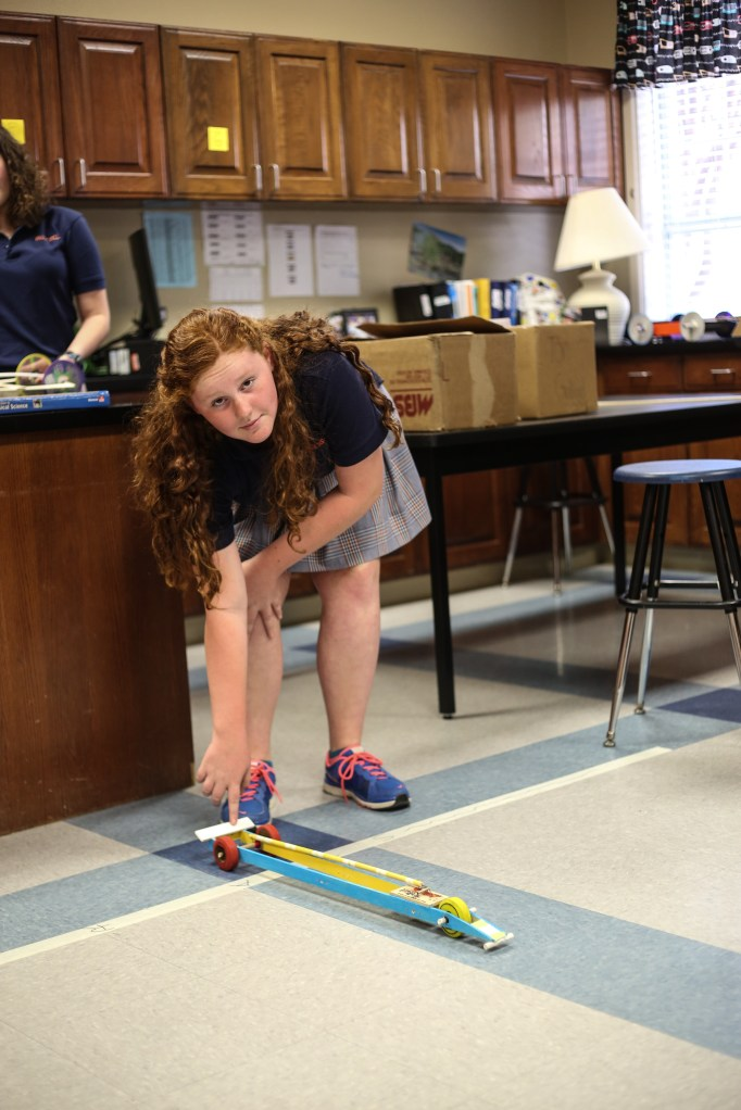 8th Grade Builds Mousetrap Cars Brook Hill School Tyler Tx