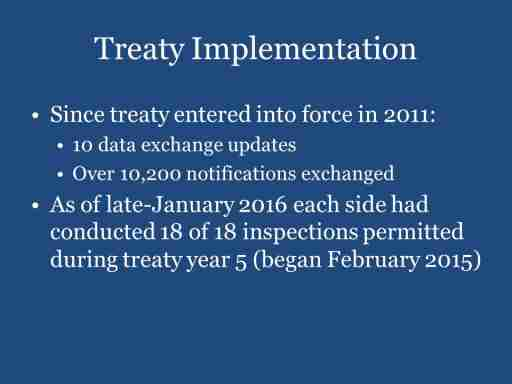 Treaty Implementation
