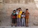 Syrian children in Jordan August 2013