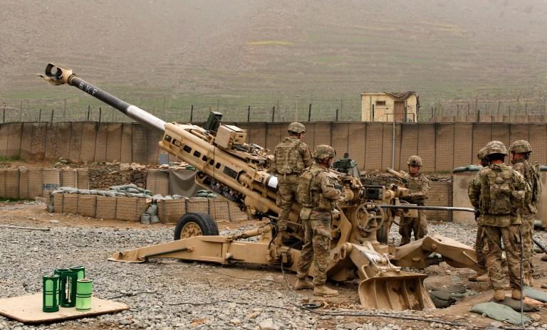 Army field artillery piece