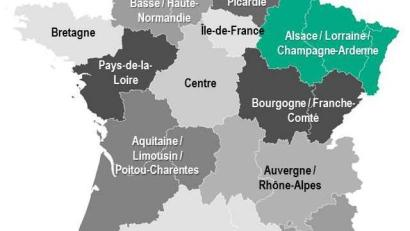 Map Of Regions France.Rightsizing The Region France Redraws Its Map