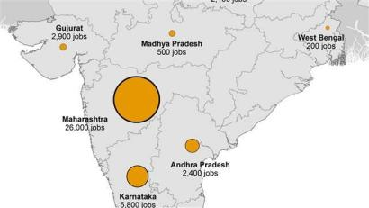 Us India Business Ties Already A Strong Foundation For Relationship - India-us-map