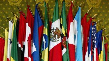 Flags of Latin American nations