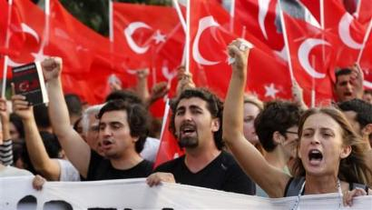 Turkey, Tunisia and Egypt: Dismantling the Islam State?