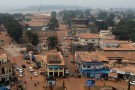 A general view shows part of the capital Bangui, Central African Republic, February 16, 2016. Picture taken on February 16, 2016. REUTERS/Siegfried Modola  - RTX27ZD3
