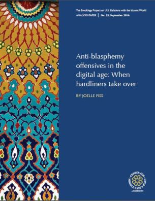 """Anti-blasphemy in the digital age: When hardliners take over"" by Joelle Fiss"