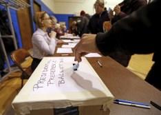 A Precinct 5 Democratic Farm Labor Party voter