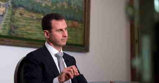 Syria's President Bashar al-Assad speaks during an interview with a Cuban news agency in this handout picture provided by SANA on July 21, 2016. SANA/Handout via REUTERS ATTENTION EDITORS - THIS PICTURE WAS PROVIDED BY A THIRD PARTY. REUTERS IS UNABLE TO INDEPENDENTLY VERIFY THE AUTHENTICITY, CONTENT, LOCATION OR DATE OF THIS IMAGE. FOR EDITORIAL USE ONLY. - RTSJ1BS