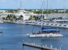 A tourist boat in Cuba