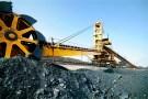 Coal washing machine work in the mines