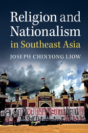 Cover of Religion and Nationalism in Southeast Asia