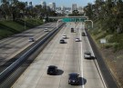 Cars travel north towards Los Angeles on Interstate highway 5 in San Diego, California February 10, 2016. (REUTERS/Mike Blake).