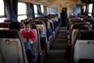 People ride a train in Aleppo, Syria February 1, 2017. Picture taken February 1, 2017. REUTERS/Omar Sanadiki - RTX30GU1