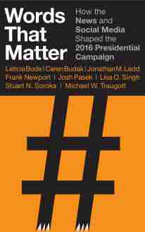 Book cover: Words that Matter