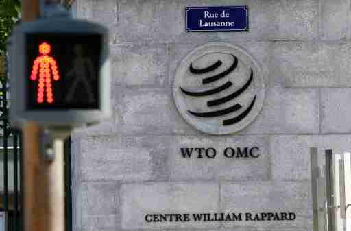 Exterior of the headquarters of the WTO