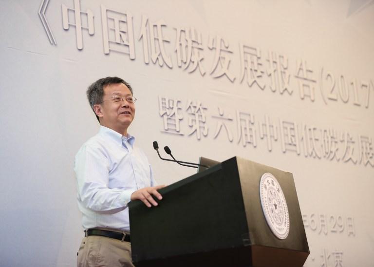 张希良教授发表主旨演讲