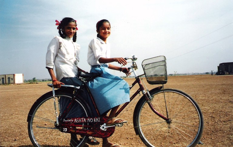 Ashta No Kai empowering two village girls to access school