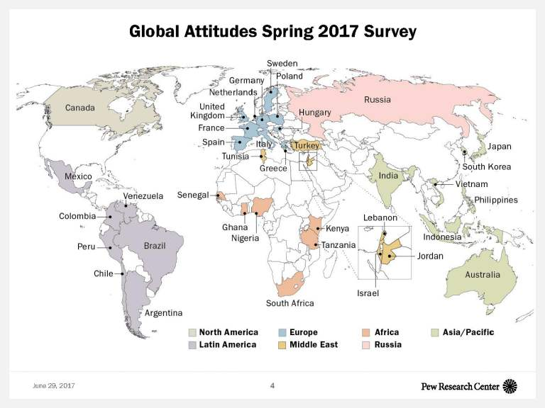 Global Attitudes Spring 2017 Survey
