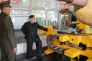North Korean leader Kim Jong-Un looks on during a visit to the Chemical Material Institute of the Academy of Defense Science in this undated photo released by North Korea's Korean Central News Agency (KCNA) in Pyongyang on August 23, 2017. KCNA/via REUTERS ATTENTION EDITORS - THIS PICTURE WAS PROVIDED BY A THIRD PARTY. REUTERS IS UNABLE TO INDEPENDENTLY VERIFY THE AUTHENTICITY, CONTENT, LOCATION OR DATE OF THIS IMAGE. FOR EDITORIAL USE ONLY. NOT FOR SALE FOR MARKETING OR ADVERTISING CAMPAIGNS. NO THIRD PARTY SALES. NOT FOR USE BY REUTERS THIRD PARTY DISTRIBUTORS. SOUTH KOREA OUT. NO COMMERCIAL OR EDITORIAL SALES IN SOUTH KOREA. THIS PICTURE IS DISTRIBUTED EXACTLY AS RECEIVED BY REUTERS, AS A SERVICE TO CLIENTS. - RTS1D44E