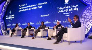 """On September 16-18, 2017, the Brookings Institution, in conjunction with the State of Qatar, will convene the 13th annual U.S.-Islamic World Forum in New York, NY. The theme of this year's Forum is """"Crisis and Cooperation."""""""
