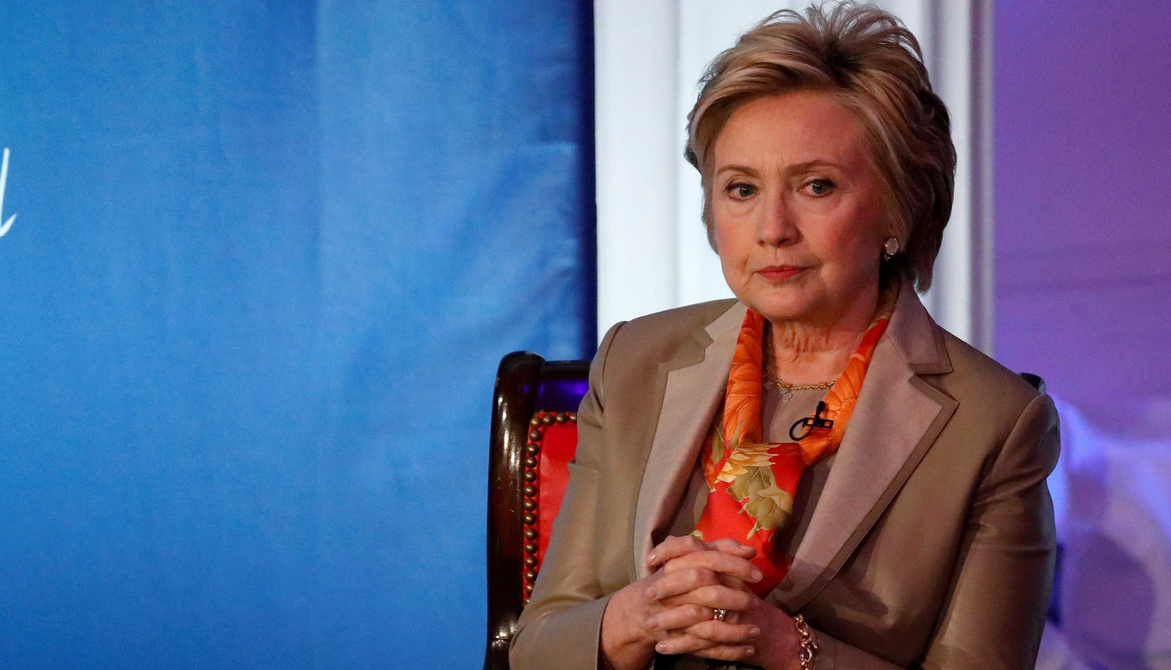 Former U.S. Secretary of State Hillary Clinton takes part in the Women for Women International Luncheon in New York City, New York, U.S., May 2, 2017. REUTERS/Brendan McDermid - RC1FD3A3C6A0