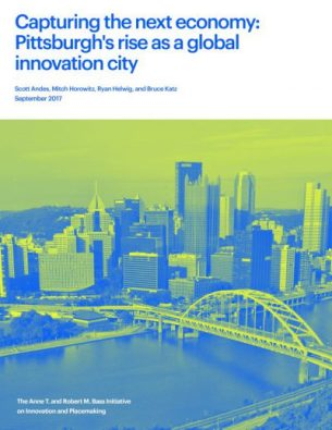 Capturing the next economy: Pittsburgh report cover