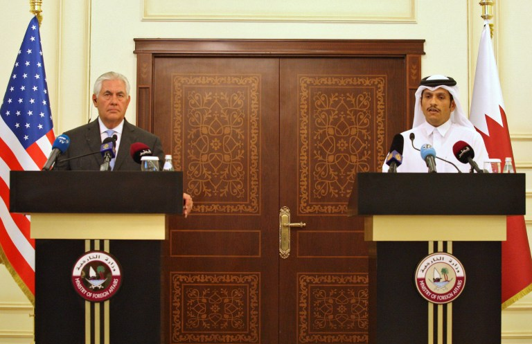 Press conference with U.S. Secretary of State Rex Tillerson and Qatari Foreign Minister Sheikh Mohammed bin Abdulrahman al-Thani