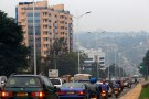 Traffic builds up on a main street in the Rwandan capital Kigali, December 17, 2015. REUTERS/James Akena/File Photo - D1AETDFGSOAA