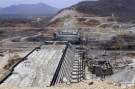 Ethiopia's Grand Renaissance Dam seen under construction during a media tour in Benishangul Gumuz Region, Guba Woreda, Ethiopia, in this March 31, 2015 file photo. REUTERS/Tiksa Negeri/Files - GF10000383863