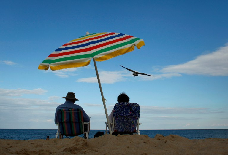 Rehoboth, Deleware beach.